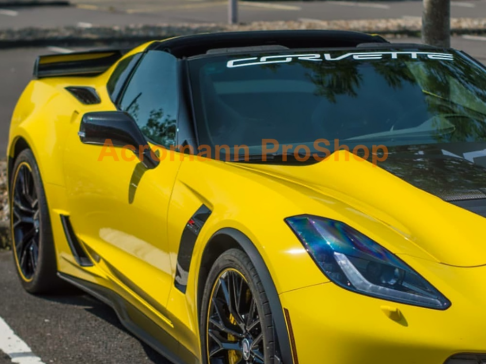 Chevy Corvette Stingray Windshield Decal 40/""