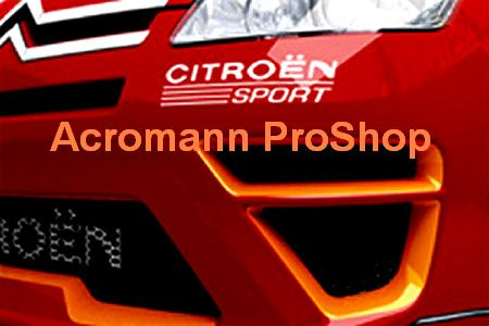 Citroen Sport 6inch Decal (Style#2) x 2 pcs