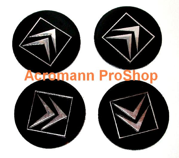 Citroen 2.2inch Wheel Cap Decal (Style#2) x 4 pcs