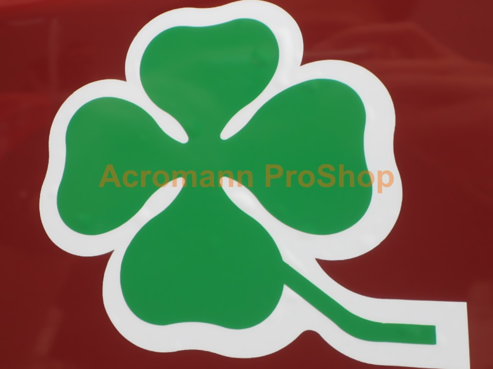Clover Leaf 3inch Decal (Style#16) x 1 pair (LHS & RHS)