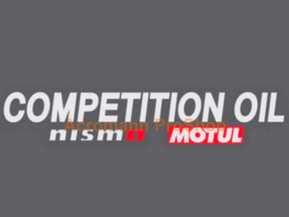 Competition Oil NISMO Motul R34 GTR Clubman 11inch decal x 2 pcs