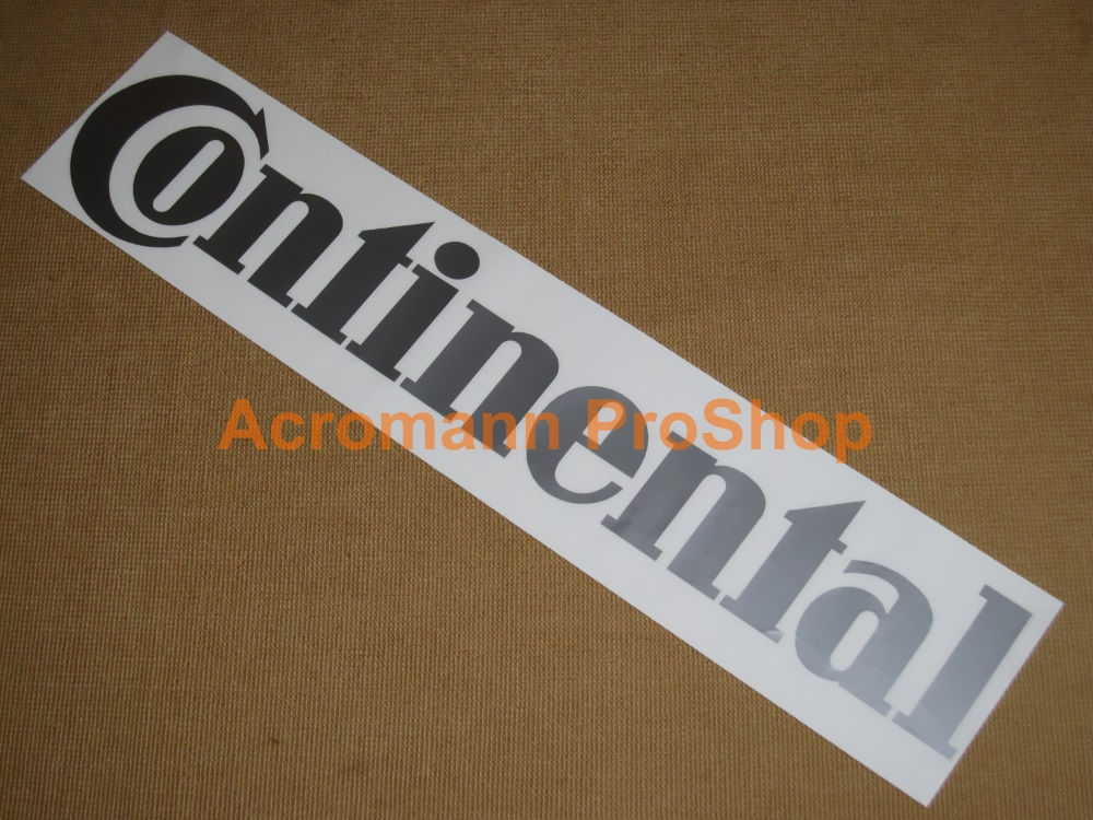 Continental Windshield Decal (Style#1)