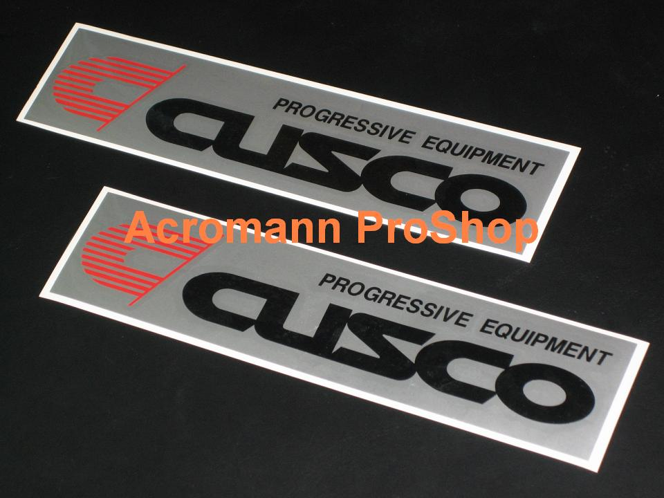 Cusco 6inch Decal (Style#3) x 2 pcs