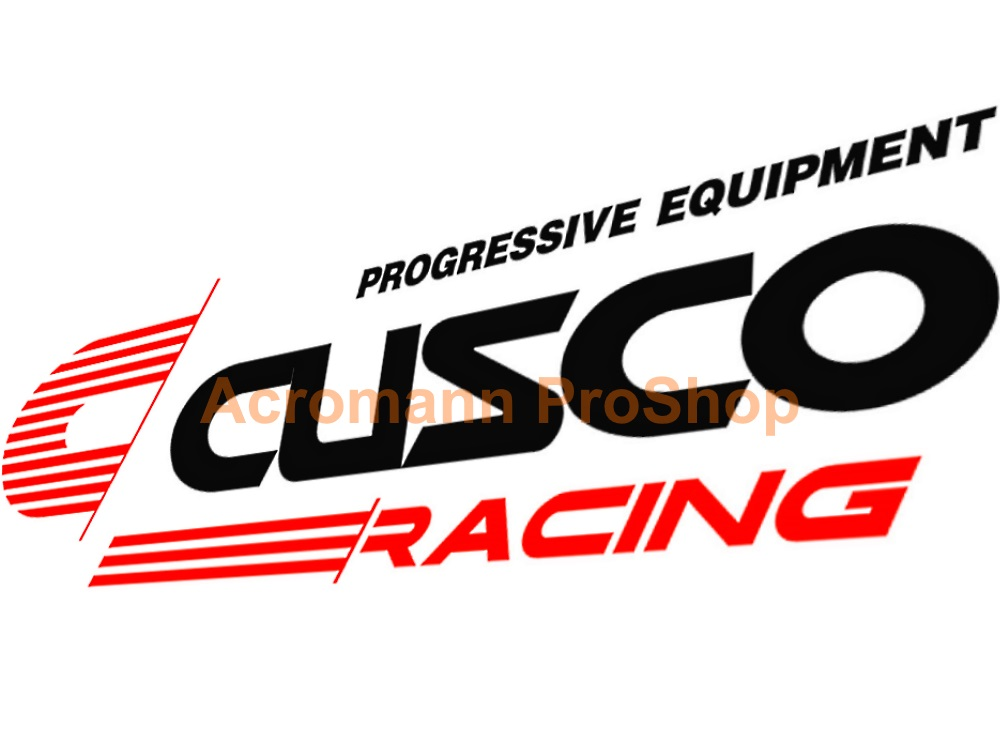 Cusco Racing 6inch Decal (Style#6) x 2 pcs