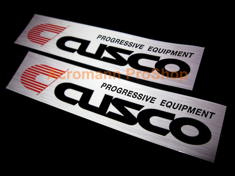 Cusco 6inch Printed Decal (Style#7) x 2 pcs