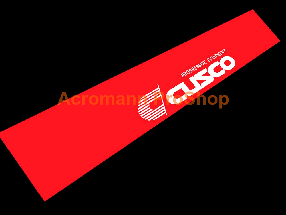 Cusco Windshield Decal (Style#3)