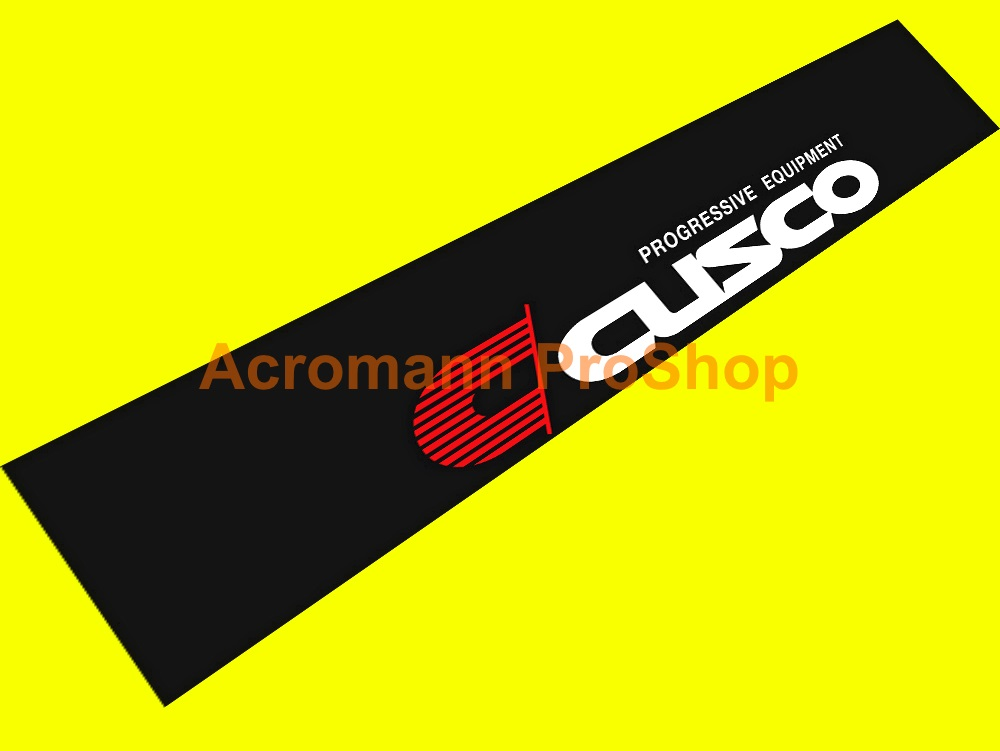 Cusco Windshield Decal (Style#4)