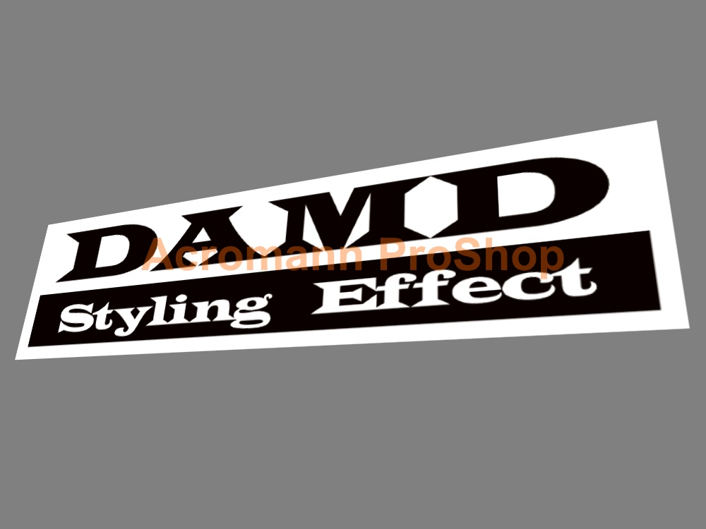 DAMD 6inch Decal (Style#1) x 2 pcs