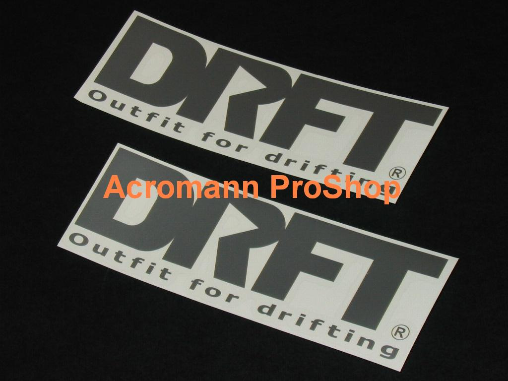 DRFT (C-West) 6inch Decal (Style#2) x 2 pcs