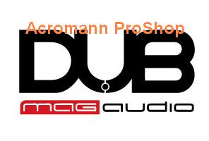 DUB Mag Audio 4inch Decal x 2 pcs
