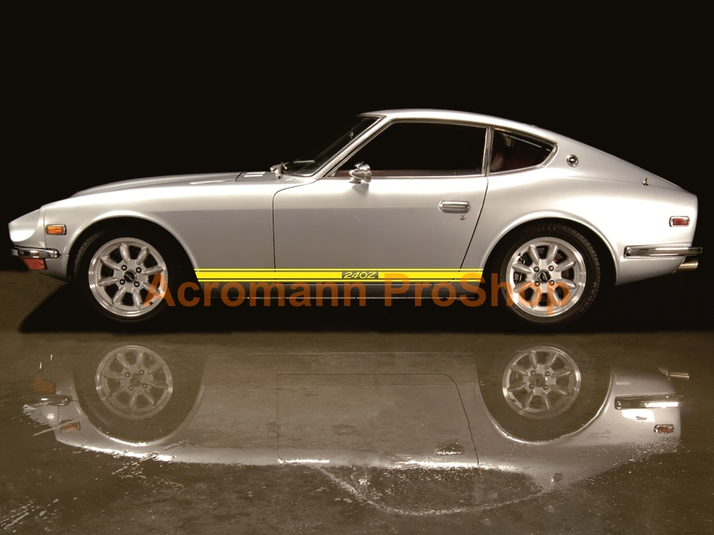 Datsun Fairlady 240Z Side Door Decal (Style#2) x 1pair (LHS&RHS)