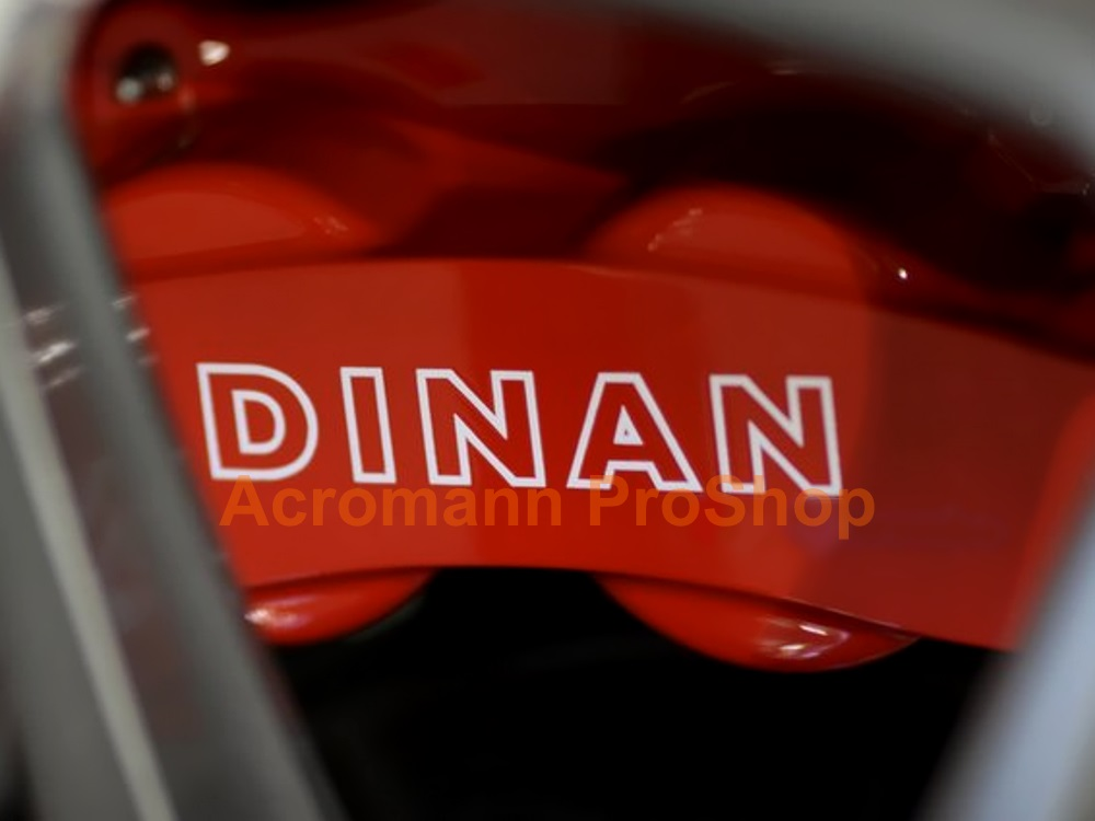 Dinan 3inch Brake Caliper Decal (Style#2) x 2 pcs