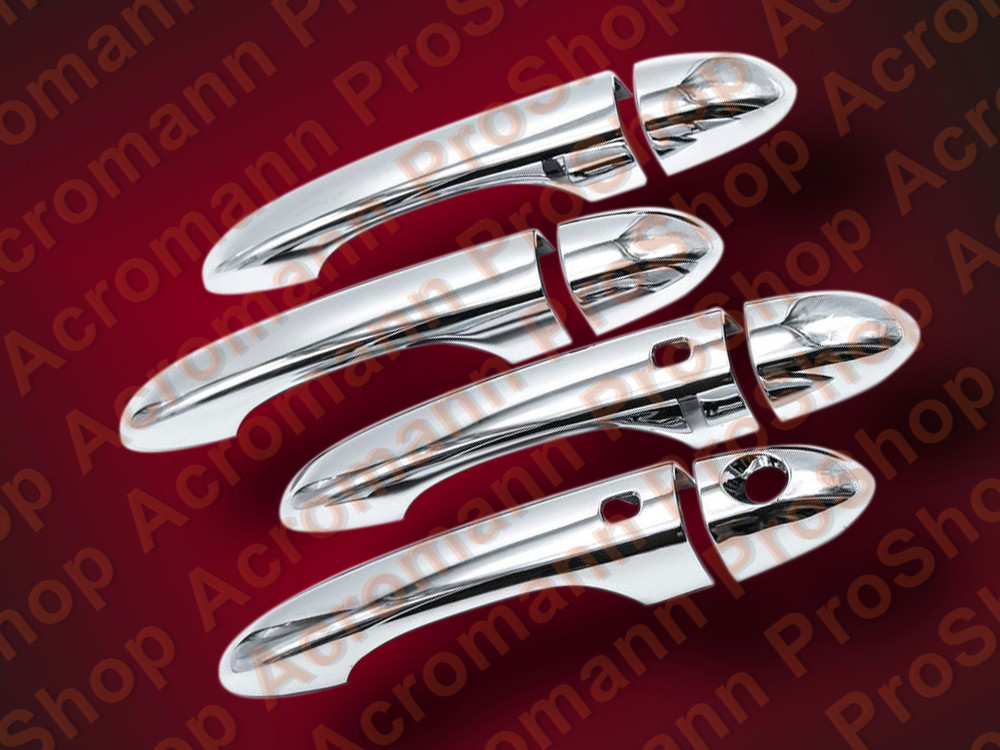 Chrome Door Handle Cover for Dodge DART *W/ SMART KEYHOLES*