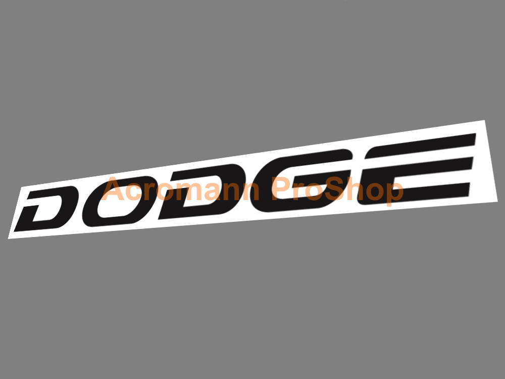 DODGE 6inch Decal (Style#1) x 2 pcs
