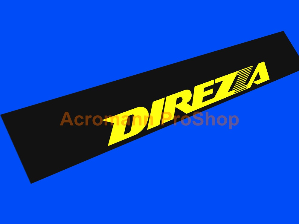 Dunlop DIREZZA Windshield Decal (Style#2)