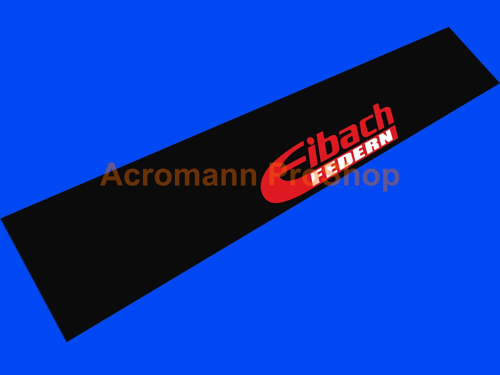 Eibach FEDERN Windshield Decal