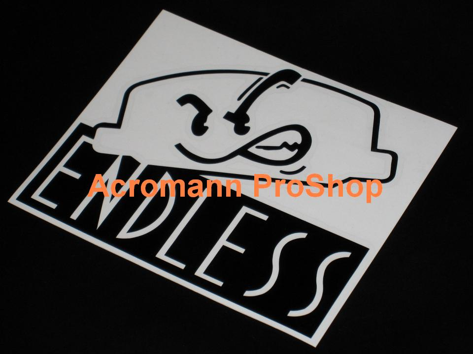 ENDLESS 6inch Decal (Style#3) x 2 pcs