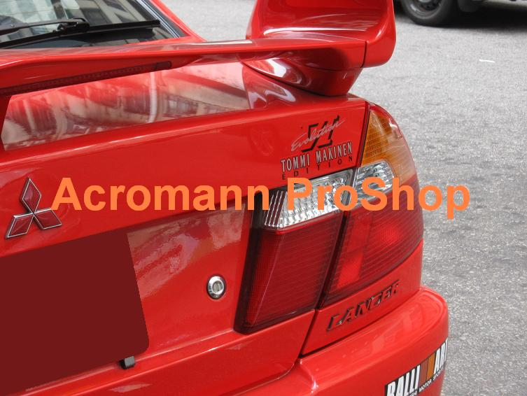Evo VI (6.5) Tommi Makinen TME Rear Trunk Decal (Style#2) x 2pcs