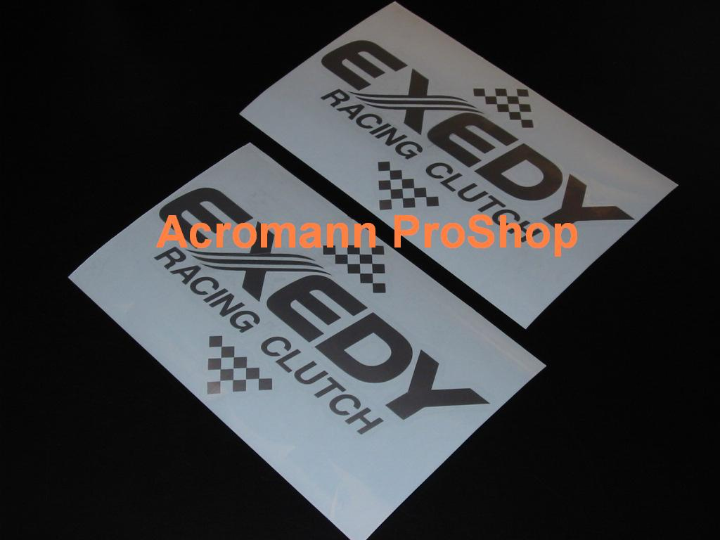 EXEDY Racing Clutch 6inch Decal (Style#1) x 2 pcs