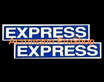Initial D EXPRESS 6inch Decal (Style#1) x 2 pcs