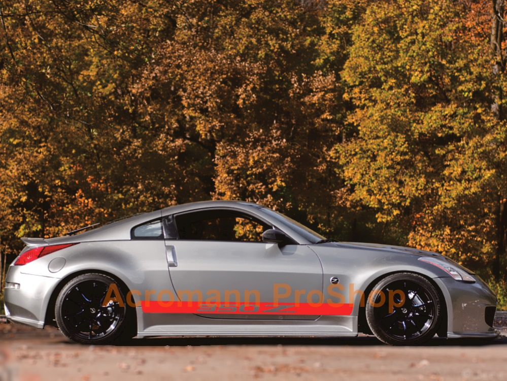 Nissan Fairlady 350Z Side Door Decal x 1 pair (LHS & RHS)