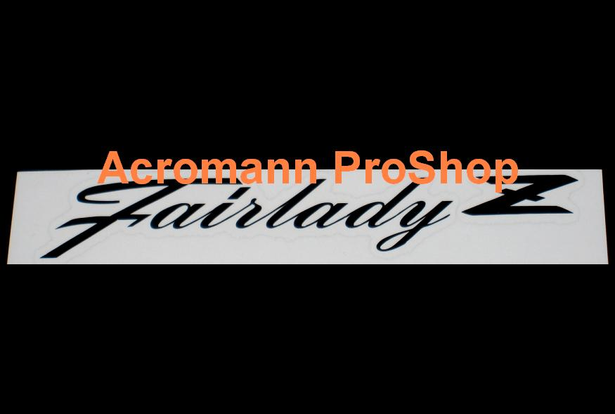Fairlady Z Windshield Decal (Style#2)