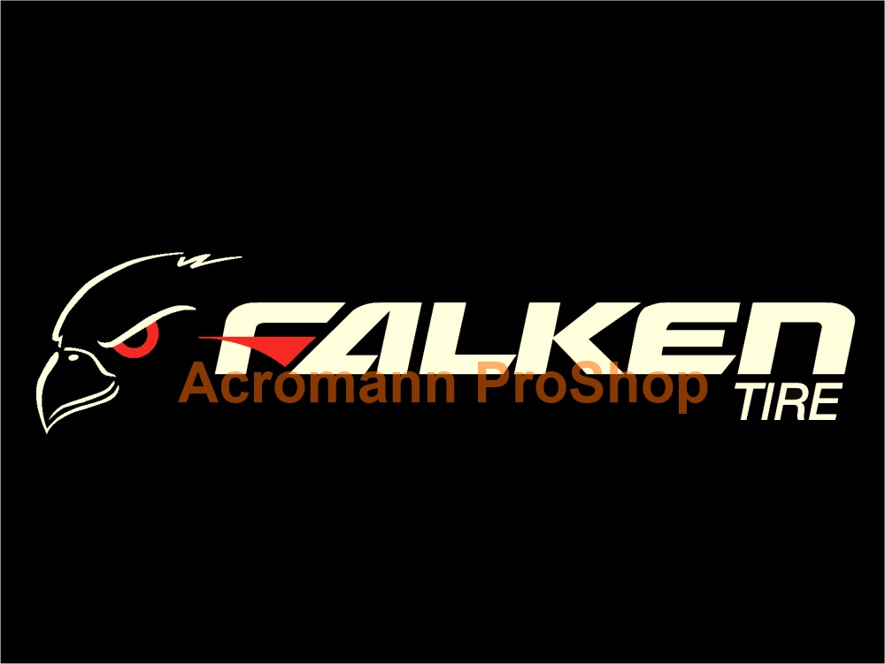 Falken 6inch decal style4 x 2 pcs