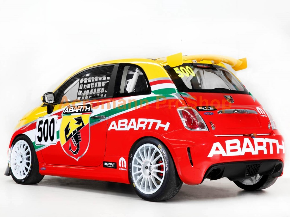 Fiat ABARTH Windshield Decal (Style#7)