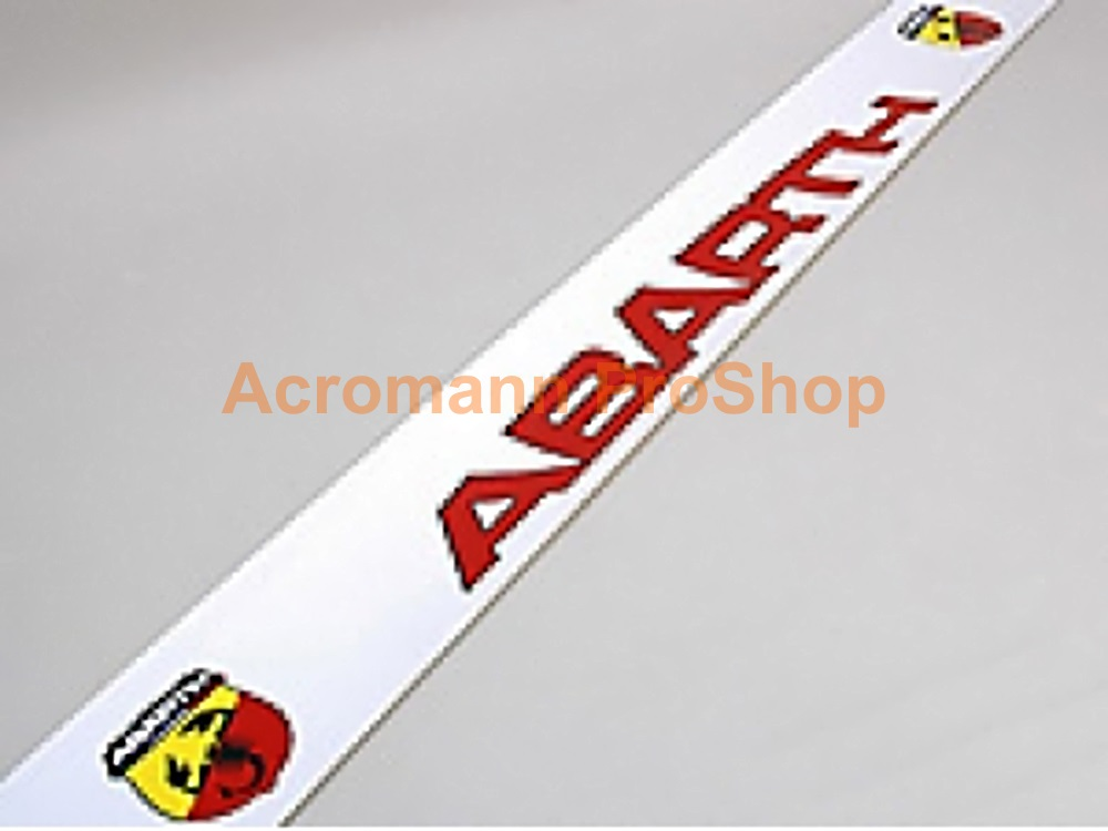 Fiat ABARTH Windshield Decal (Style#9)