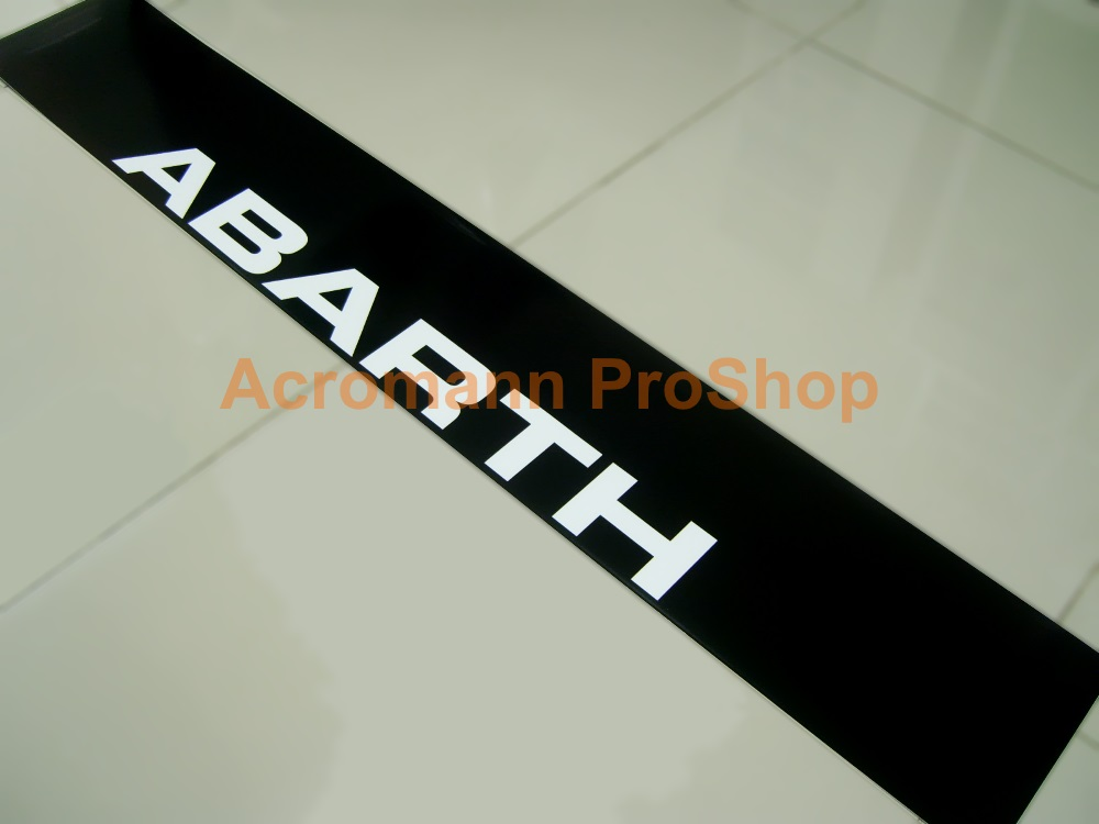 Fiat ABARTH Windshield Decal (Style#10)