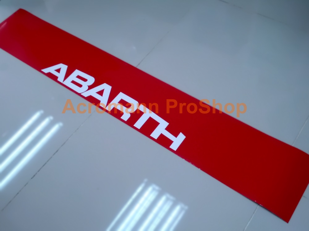 Fiat ABARTH Windshield Decal (Style#3)