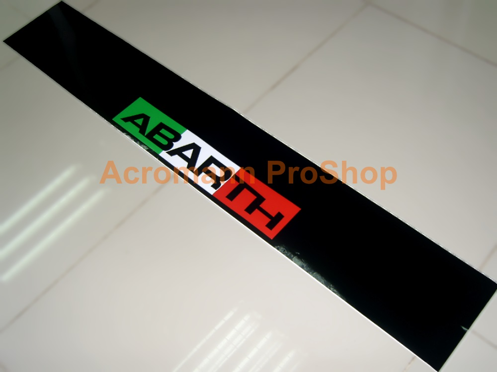 Fiat ABARTH Windshield Decal (Style#4)