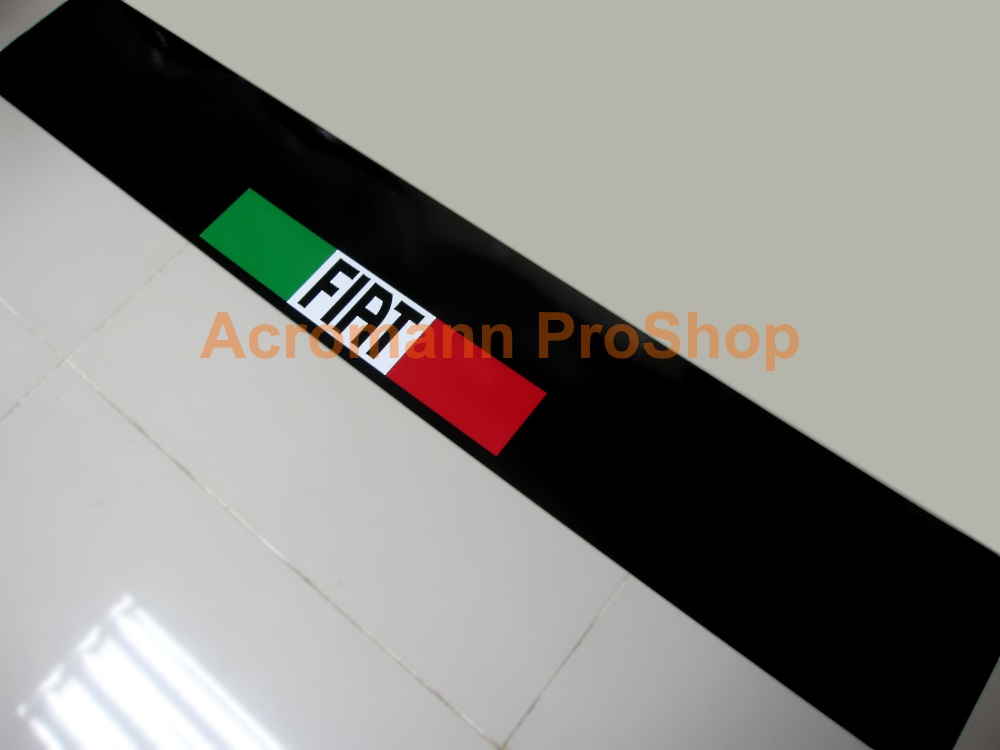 Fiat Windshield Decal (Style#1)