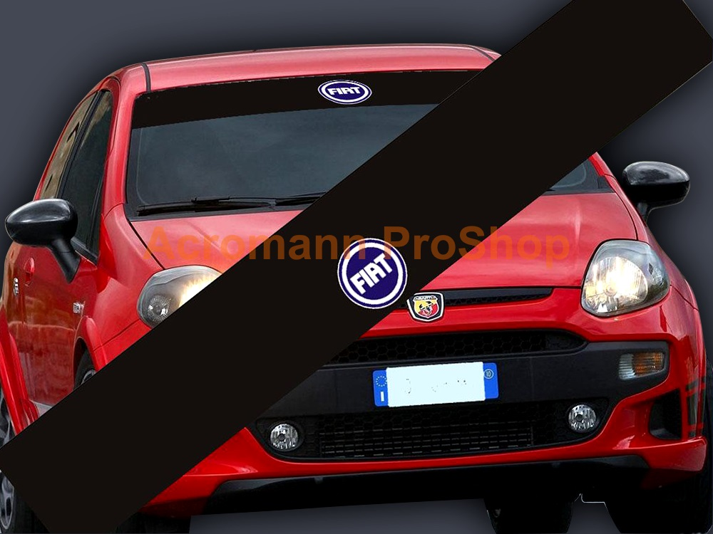 Fiat Windshield Decal (Style#2)
