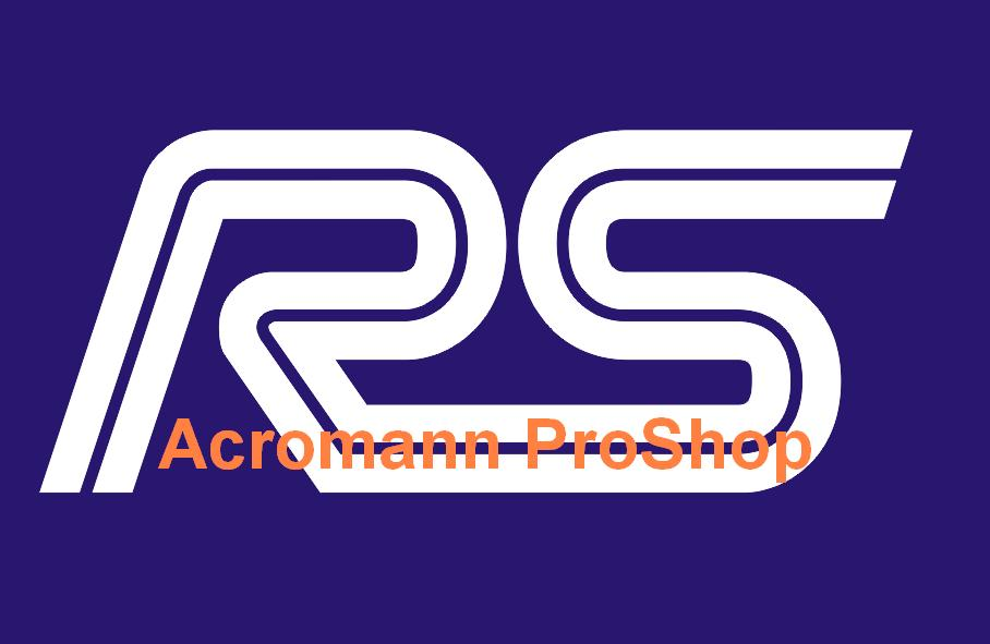 Ford RS 6inch Decal x 2 pcs
