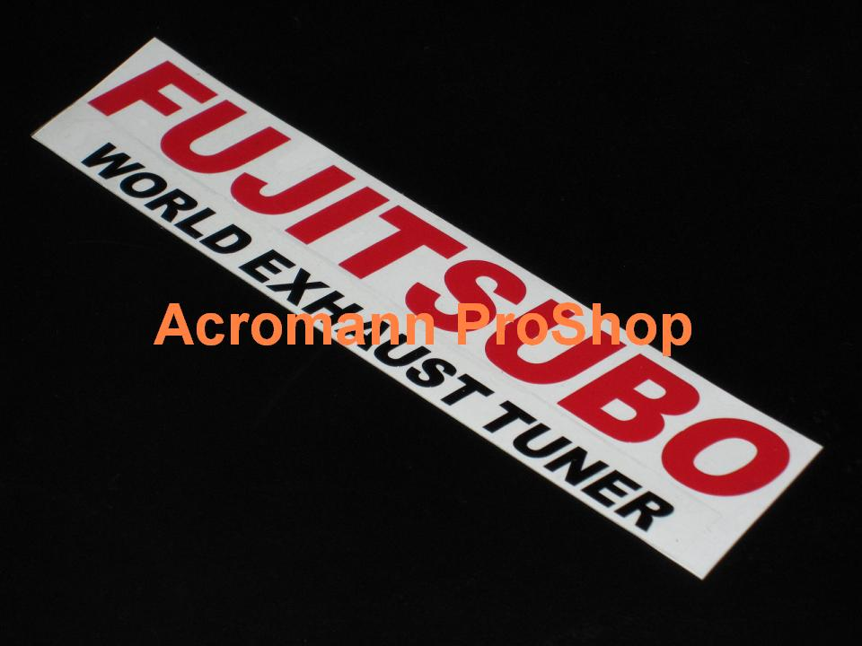 FUJITSUBO 6inch Decal (Style#3) x 2 pcs