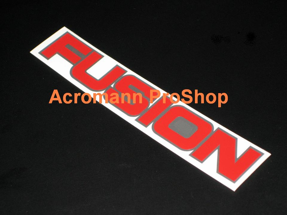 FUSION (Top Secret) 6inch Decal x 2 pcs