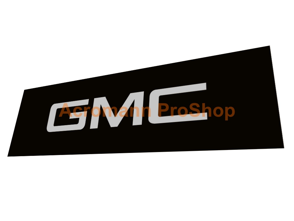 GMC 6inch Decal (Style#2) x 2 pcs