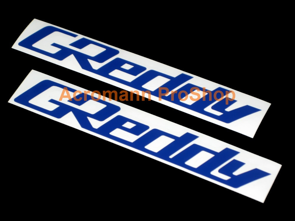 GReddy 4inch Brake Caliper Decal x 2 pcs