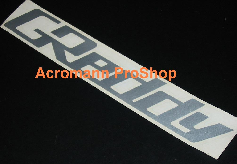 GReddy Lettering 6inch Decal x 2 pcs