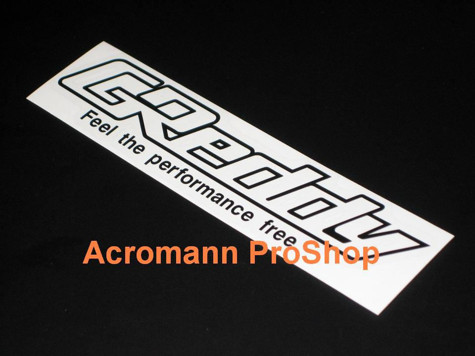 GReddy 6inch Decal x 2 pcs
