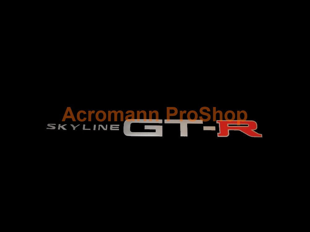 Skyline GTR (GT-R) Windshield Decal (Style#5)