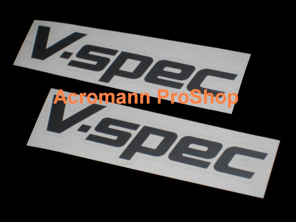 V-Spec 5inch Decal (Style#1) x 2 pcs