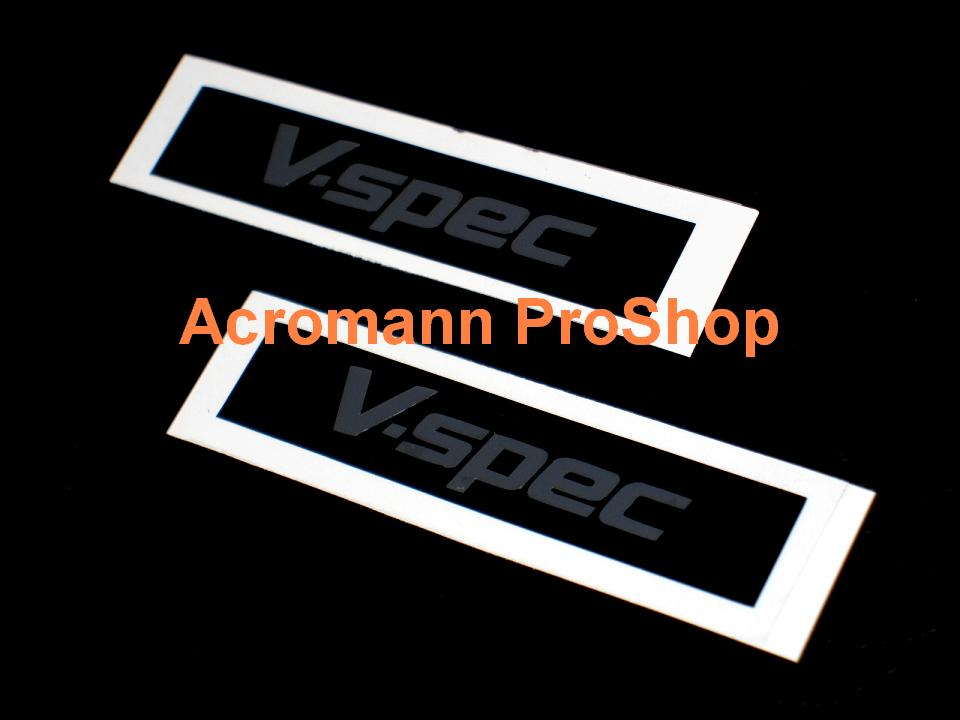V-Spec 6inch Decal (Style#2) x 2 pcs
