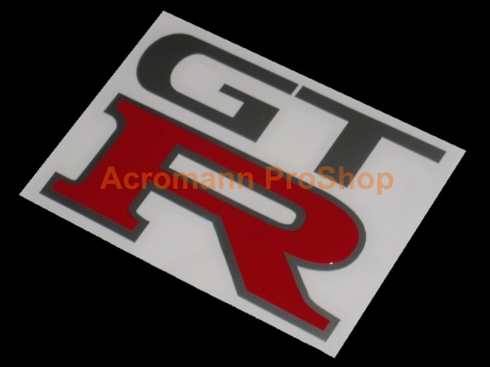 GTR (GT-R) 3inch Decal (Style#2) x 2 pcs