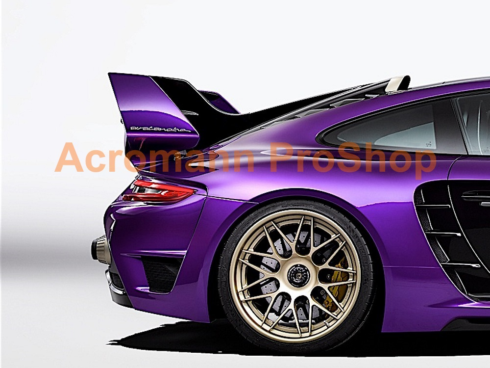 Gemballa Avalanche 8.5inch Decal (Style#1) x 2 pcs