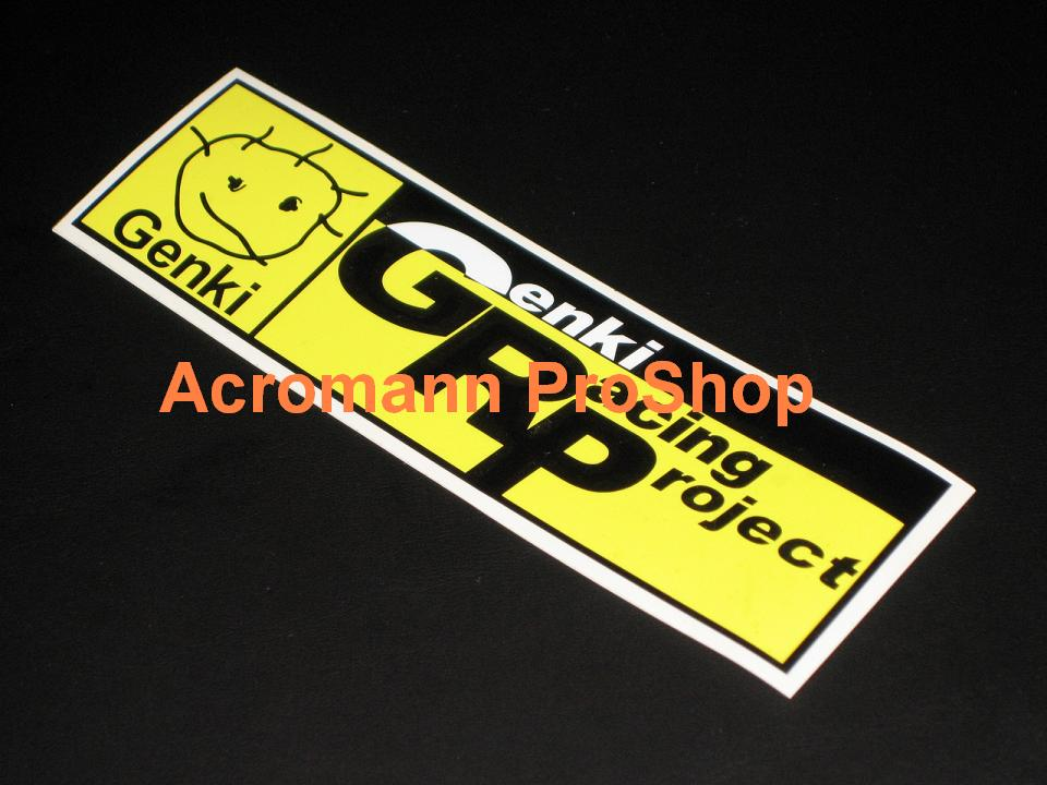 Genki Racing Project (D1) 6inch Decal (Style#1) x 2 pcs