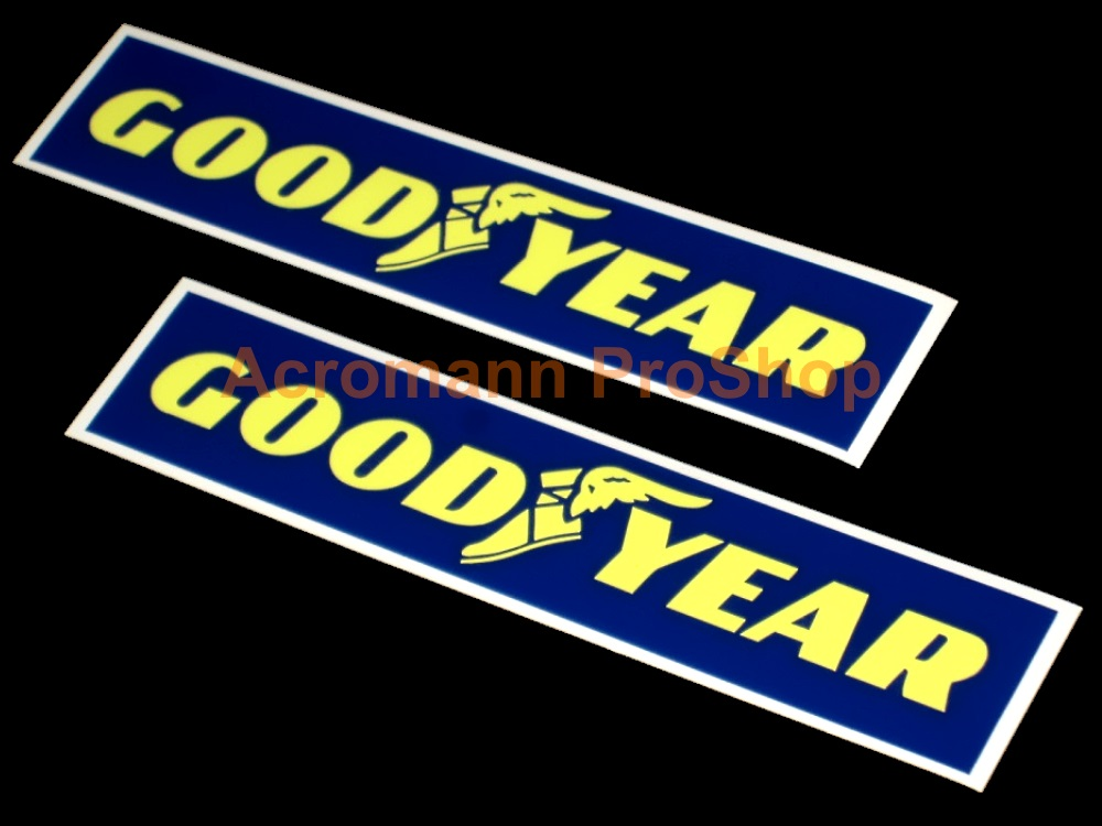 Goodyear 6inch Decal (Style#4) x 2 pcs