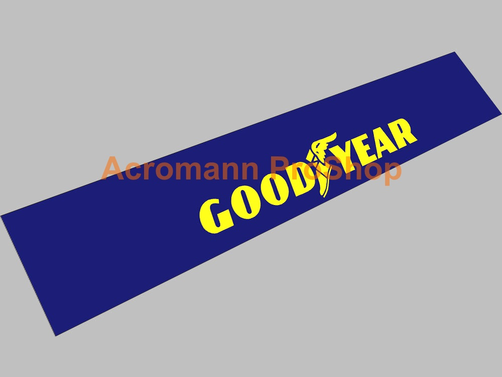 Goodyear Windshield Decal (Style#2)
