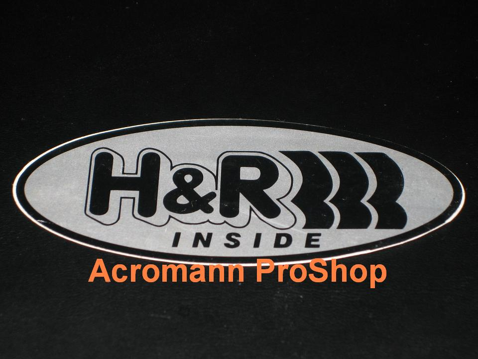 H&R 4inch Decal (Style#2) x 2 pcs
